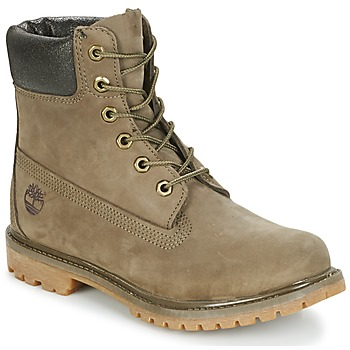 Shoes Women Mid boots Timberland 6IN PREMIUM BOOT - W Canteen / Waterbuck / Brown