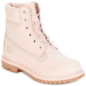 Shoes Women Mid boots Timberland 6IN PREMIUM BOOT - W CAMEO / Pink / Waterbuck