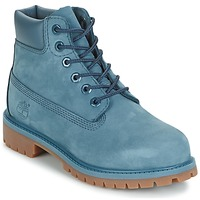 Shoes Children Mid boots Timberland 6 IN PREMIUM WP BOOT Orion / BLUE / Waterbuck