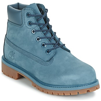 Shoes Children Mid boots Timberland 6 IN PREMIUM WP BOOT Blue bd93d1a756