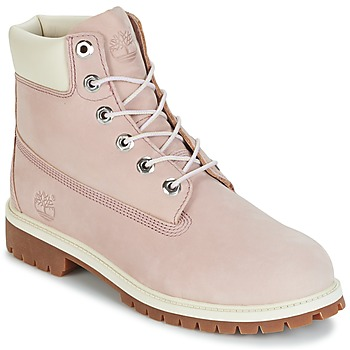 Shoes Children Mid boots Timberland 6 IN PREMIUM WP BOOT Nude