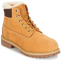 Shoes Children Mid boots Timberland 6 IN PRMWPSHEARLING LINED Wheat / Waterbuck