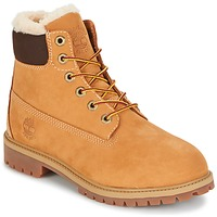 Shoes Children Mid boots Timberland 6 IN PRMWPSHEARLING LINED Brown