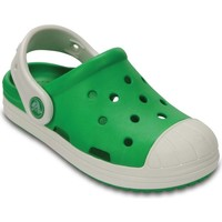 Shoes Boy Clogs Crocs Bump It Boys Sandals green