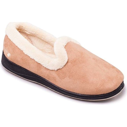 Shoes Women Slippers Padders Repose Womens Fully Lined Slippers BEIGE