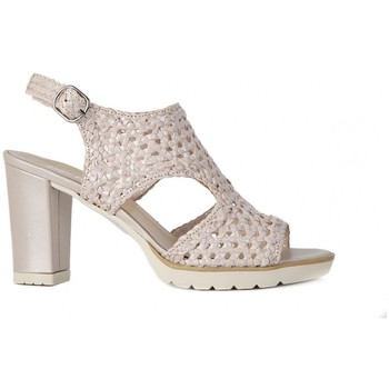Shoes Women Sandals Melluso SANDALO PLATA PERLATO    104,1