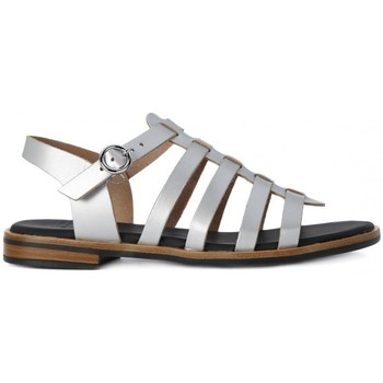 Shoes Women Sandals Frau SATIN SILVER    106,3