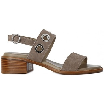 Shoes Women Sandals Frau CAMOSCIO TAUPE    136,3