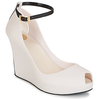 Shoes Women Sandals Melissa PATCHULI IX AD Beige / Black