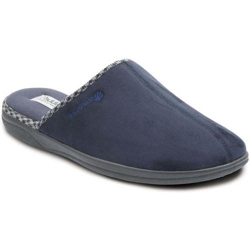 Shoes Men Slippers Padders Luke Mens Mule Slippers blue