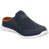 Shoes Men Clogs Rieker B487914 Blue