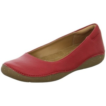 Shoes Women Flat shoes Clarks Autumn Sun Red