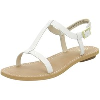 Shoes Women Sandals Clarks Voyage Hop White