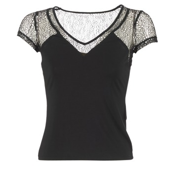 Clothing Women short-sleeved t-shirts Morgan DSTAF Black