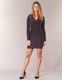 Clothing Women Short Dresses Morgan RIKRAK Black