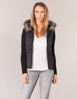 Clothing Women Jackets / Cardigans Morgan MASTO Black
