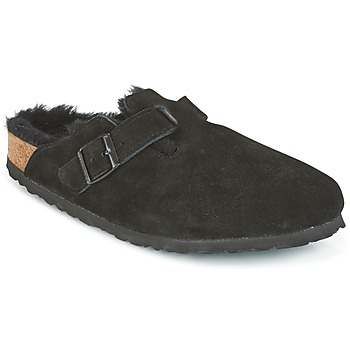 Shoes Women Clogs Birkenstock BOSTON Black