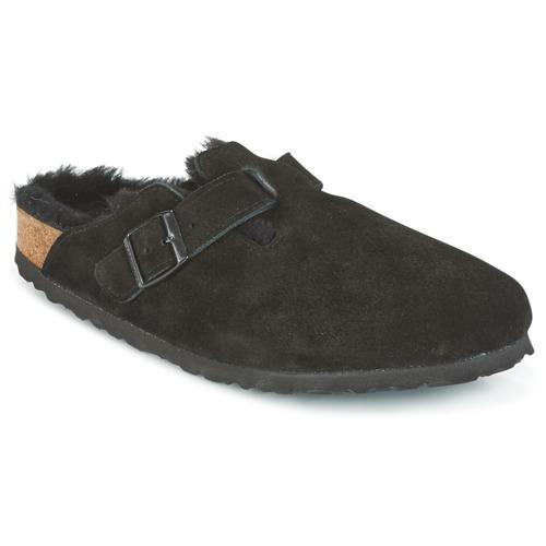 Shoes Women Clogs Birkenstock BOSTON Black