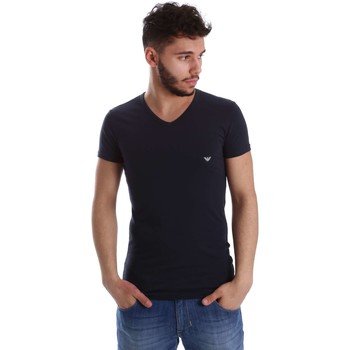 Emporio Armani EA7  111512 CC717 Tshirt Man  mens T shirt in blue