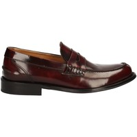 Shoes Men Loafers Exton 9102 Mocassins Man Brown Brown