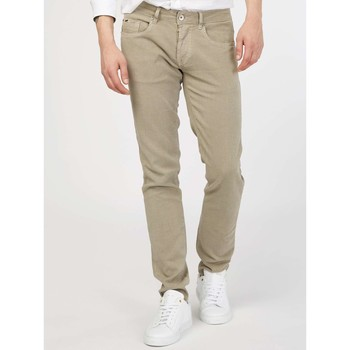Clothing Men 5-pocket trousers Gas 351215 Trousers Man Beige Beige