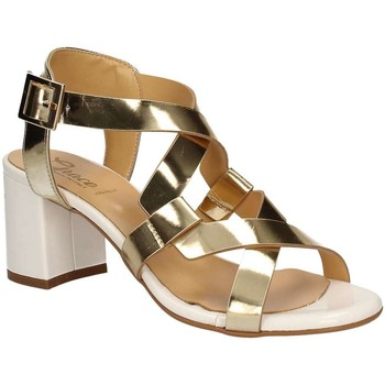 Shoes Women Sandals Grace Shoes 9205 High heeled sandals Women Gold Gold