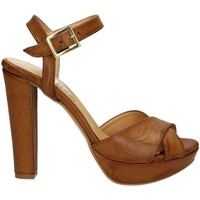 Shoes Women Sandals Grace Shoes 9372 High heeled sandals Women Brown Brown