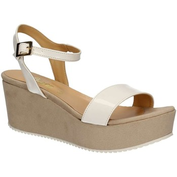 Shoes Women Sandals Grace Shoes 9826 Wedge sandals Women White White