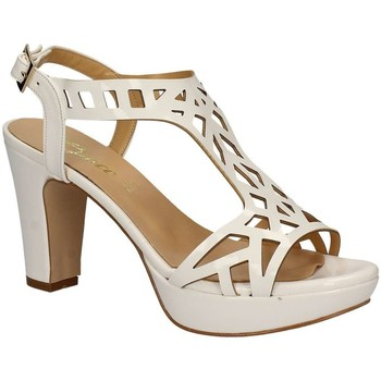 Shoes Women Sandals Grace Shoes 9854 High heeled sandals Women Bianco Bianco
