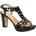 Grace Shoes 9854 High heeled sandals Women Black