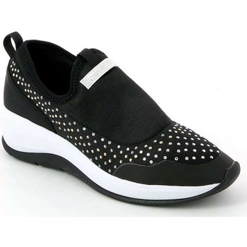 Shoes Women Low top trainers Grunland SC2708 Slip-on Women Black Black