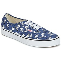 Shoes Low top trainers Vans AUTHENTIC SNOOPY Blue
