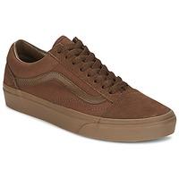 Shoes Men Low top trainers Vans OLD SKOOL Brown