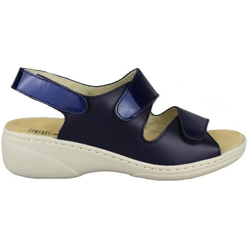 Shoes Women Sandals Comfort Class PLANTILLA EXTRAIBLE MARINO