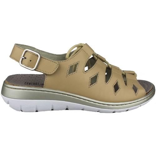 Shoes Women Sandals Comfort Class  BEIGE