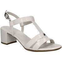 Shoes Women Sandals Nero Giardini P717610D High heeled sandals Women White White