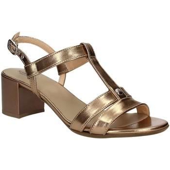 Shoes Women Sandals Nero Giardini P717610D High heeled sandals Women Gold Gold