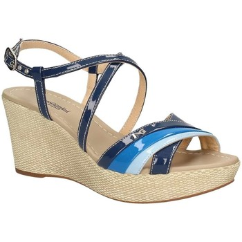 Shoes Women Sandals Nero Giardini P717616D Wedge sandals Women Blue Blue