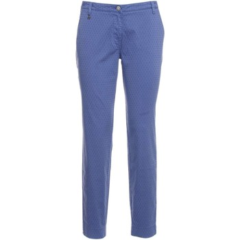 Clothing Women chinos Nero Giardini P764750D Trousers Women Blue Blue