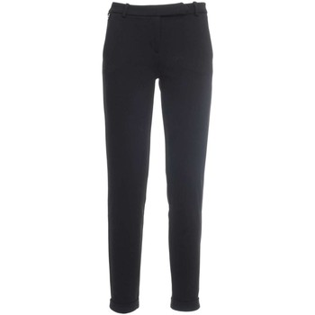 Clothing Women chinos Nero Giardini P764770D Trousers Women Black Black