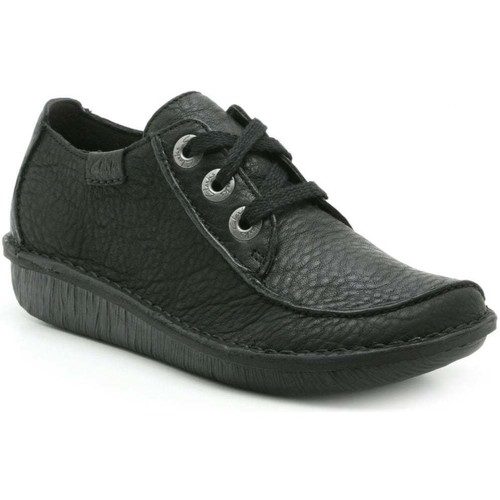Shoes Women Derby Shoes Clarks Funny Dream Womens Casual Shoes black