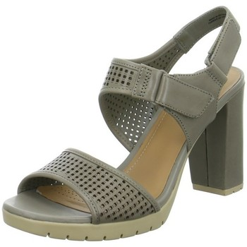 Shoes Women Sandals Clarks Pastina Estate Grey