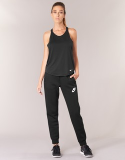 Clothing Women Tracksuit bottoms Nike RALLY PANT Black / White