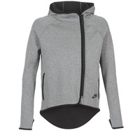 Clothing Women sweatpants Nike TECH FLEECE CAPE FZ Grey
