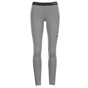 Clothing Women leggings Nike NIKE PRO TIGHT Grey / Black