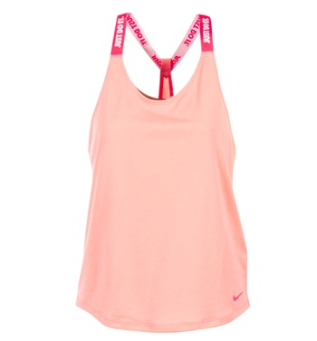 Clothing Women Tops / Sleeveless T-shirts Nike NIKE DRY TANK ELASTIKA Pink / Red