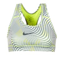 Clothing Women Sport bras Nike NIKE PRO CLASSIC BRA Yellow / Grey