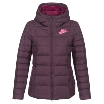Clothing Women Duffel coats Nike DOWN FILL JKT Bordeaux / Pink