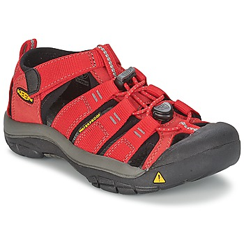 Shoes Children Outdoor sandals Keen KIDS NEWPORT H2 Red / Grey