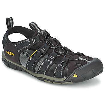 Shoes Men Outdoor sandals Keen MEN CLEARWATER CNX Black / Grey